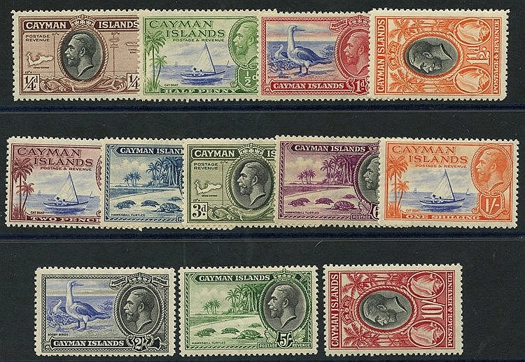 1935 Pictorial Defin set M, SG.96/107 (12) Cat. £200