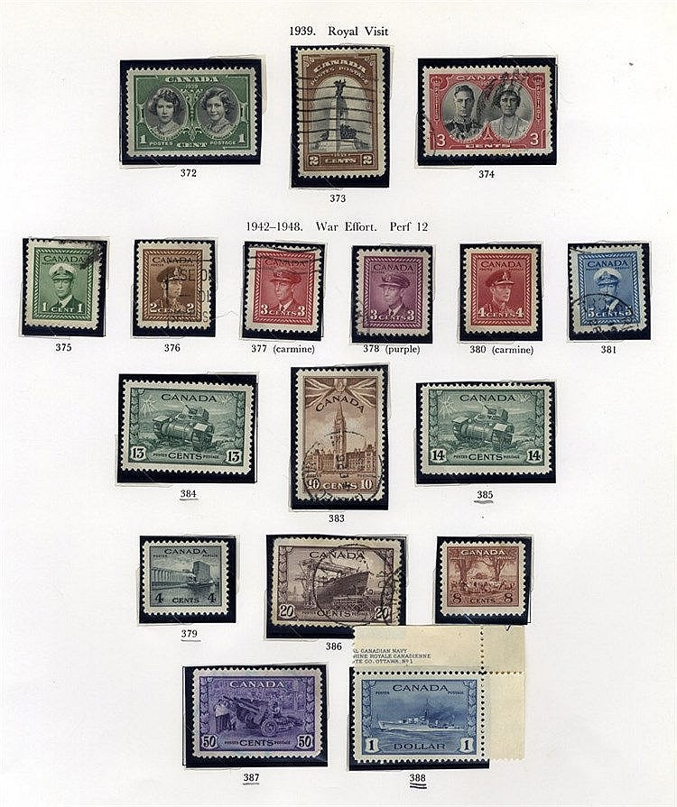 QV-QEII M & U collection in a printed album, noted 1897 Jubilee 2