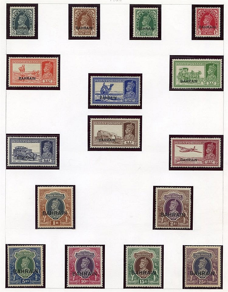 Collection on leaves with 1934-37 to 4a, 1938-41 set to 25r, 1942