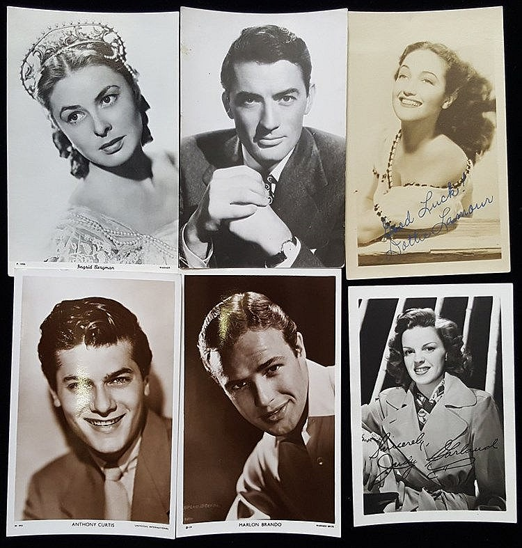 ENTERTAINMENT collection of postcards (majority are unused) or po