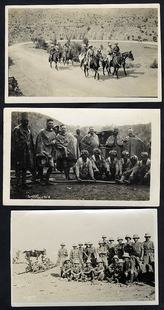 MISCELLANEOUS range incl. Military - small collection of postcard