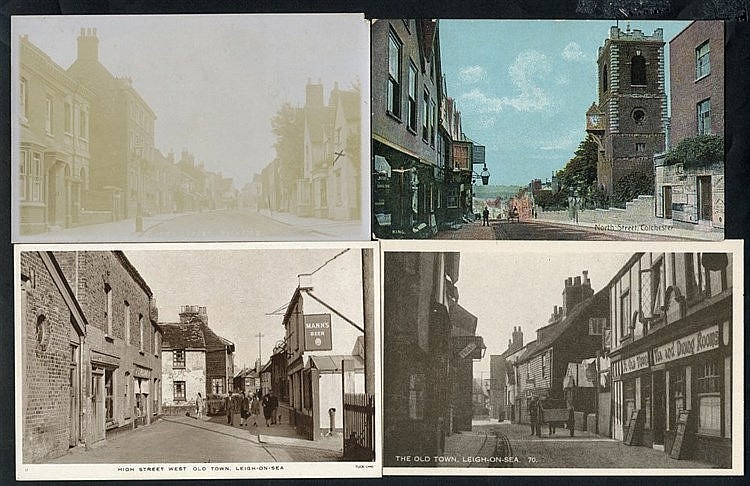 ESSEX, SUSSEX & OTHERS large lot of approx 1300 cards in four box