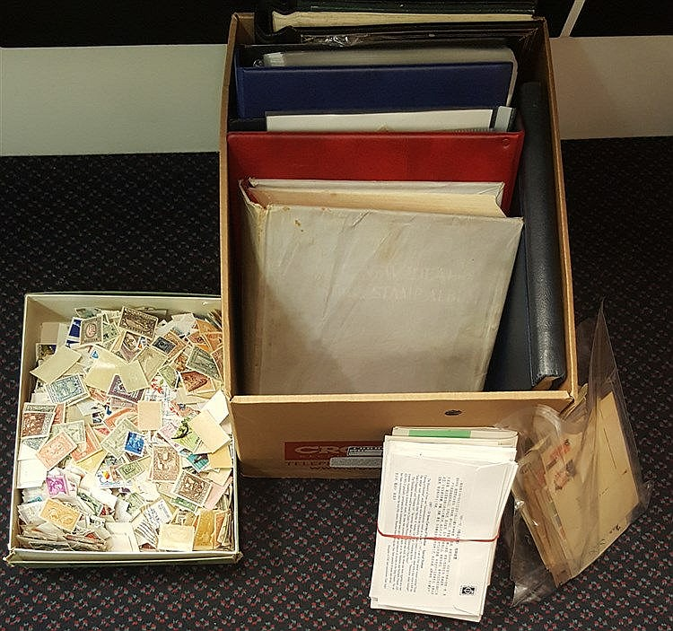 ACCUMULATION in carton incl. New Zealand collection (ST.Cat. £800