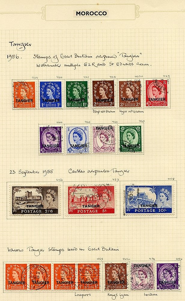 BRITISH COMMONWEALTH in album, countries M-T, all QEII mainly FU