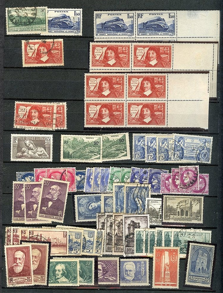 1849-1970's M & U range in two stock books (approx 230 stamps) in