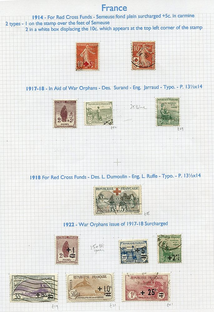 1853-2008 M & U collection housed in nine Alpha Major albums, goo