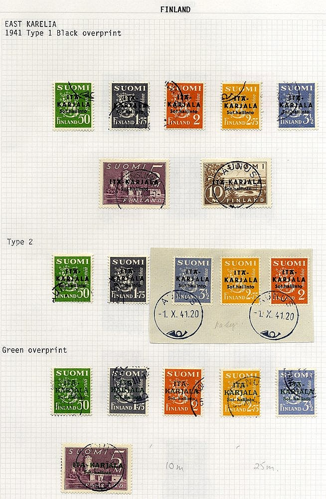 1866-1996 good to VFU collection housed in a Davo album incl. 187