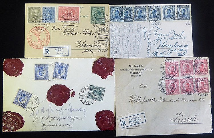 1920's-30's covers - a good variety incl. insured money letter, m