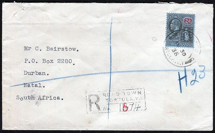 1899-1936 selection of covers incl. 1899 ½d to 4d used on cover,