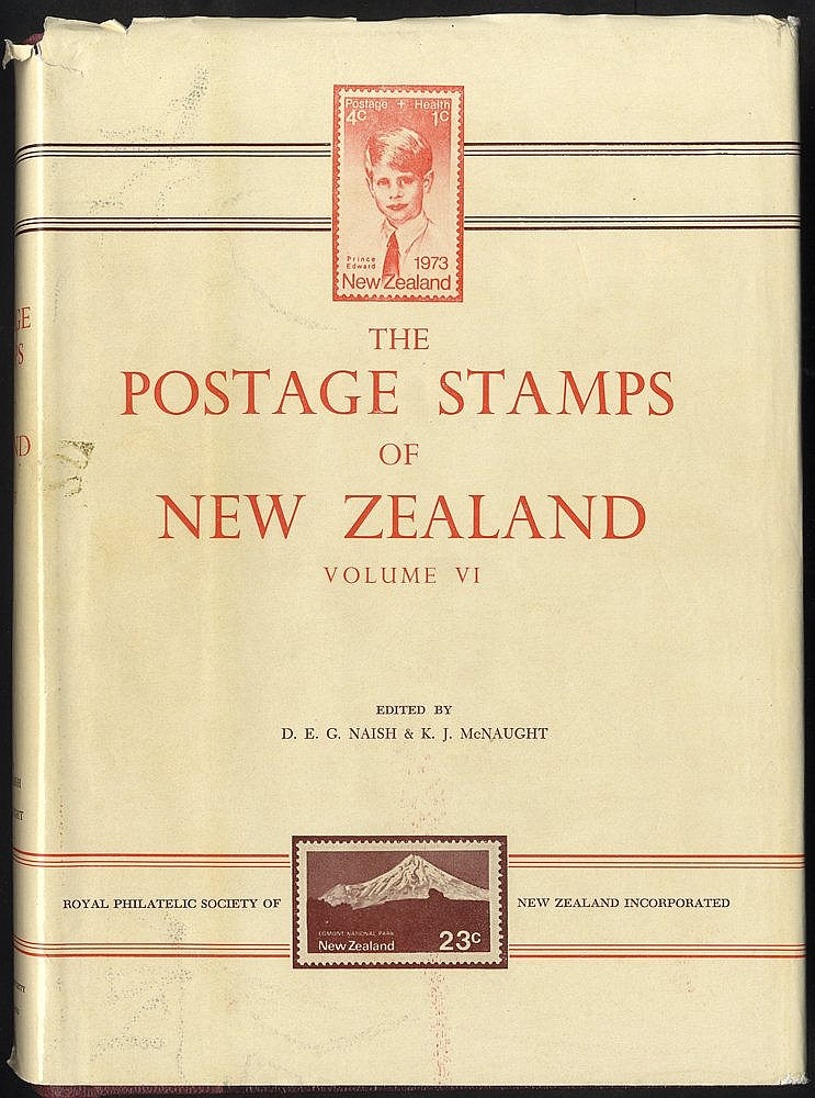 LITERATURE - The Postage Stamps of New Zealand published by The R