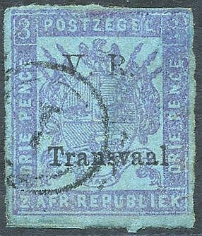 1879 Roulette 3d mauve/blue, fine U, faint thin, SG.152. (1) Cat.