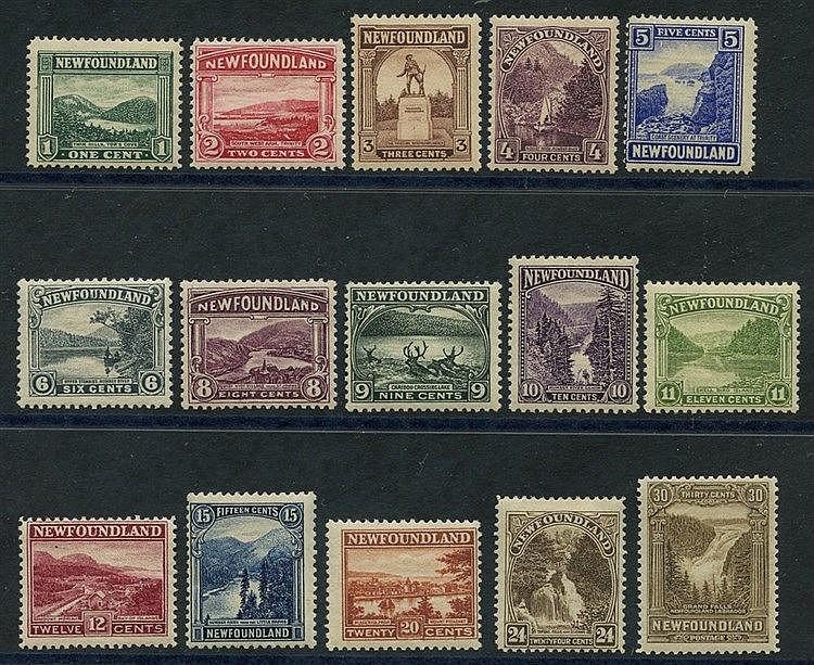 1928-29 set M, SG.164/178. Cat. £140