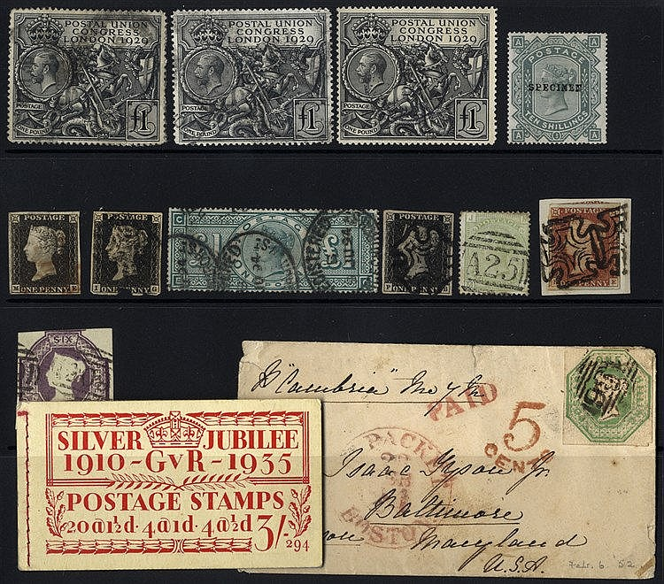 LATE LOT - GREAT BRITAIN miscellaneous accumulation in small stoc