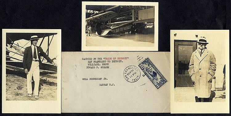 1927 Brock & Schlee Pride of Detroit Round the World Flight attem
