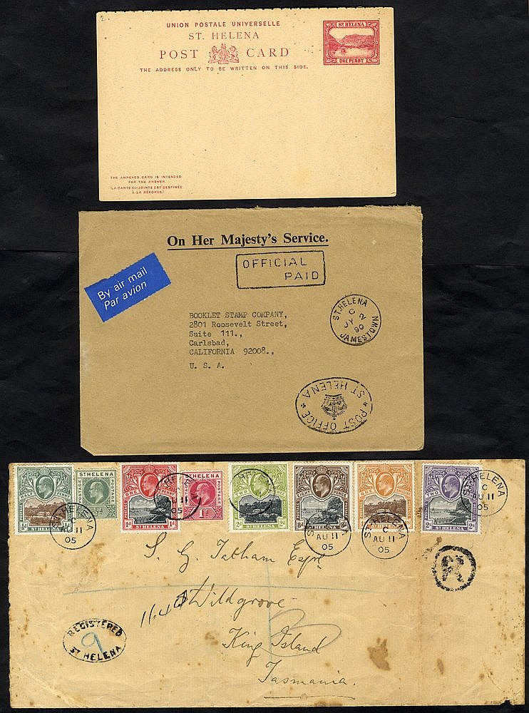 1896 - modern selection of covers, ephemera etc. incl. 1903 CCC s