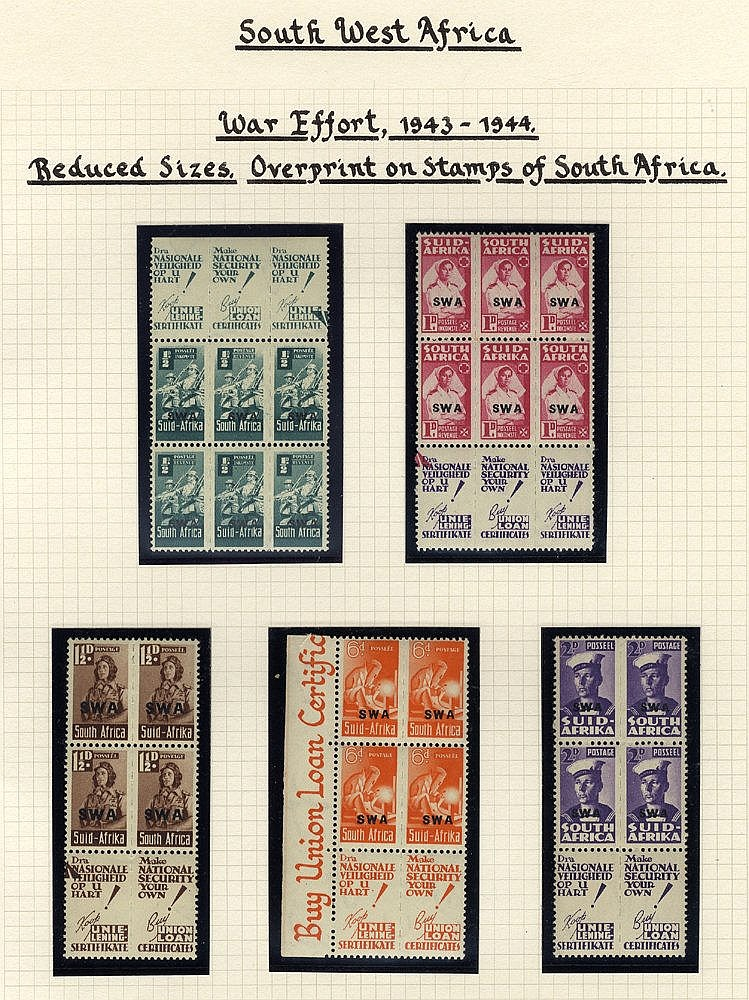 1935-63 (Mar) collection with the basic issues complete, 1937 Cor