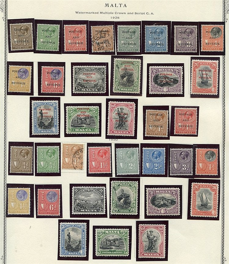 1863-1984 mainly M or UM collection housed in a Scott Printed alb