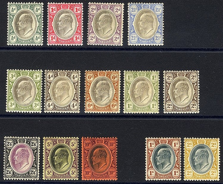1902 CCA set M, SG.244/55, also 1903 1s & 2s M, SG.256/7. (12) Ca