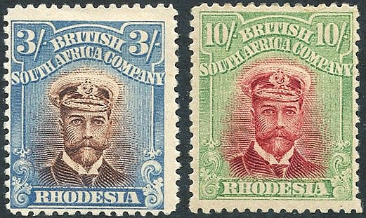 1913-22 Admirals Perf 14 3s (SG.237) & 10s (SG.241), both fine M.