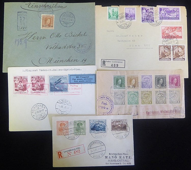 c1920's-40's covers & cards incl. 1917 unusual censored registere
