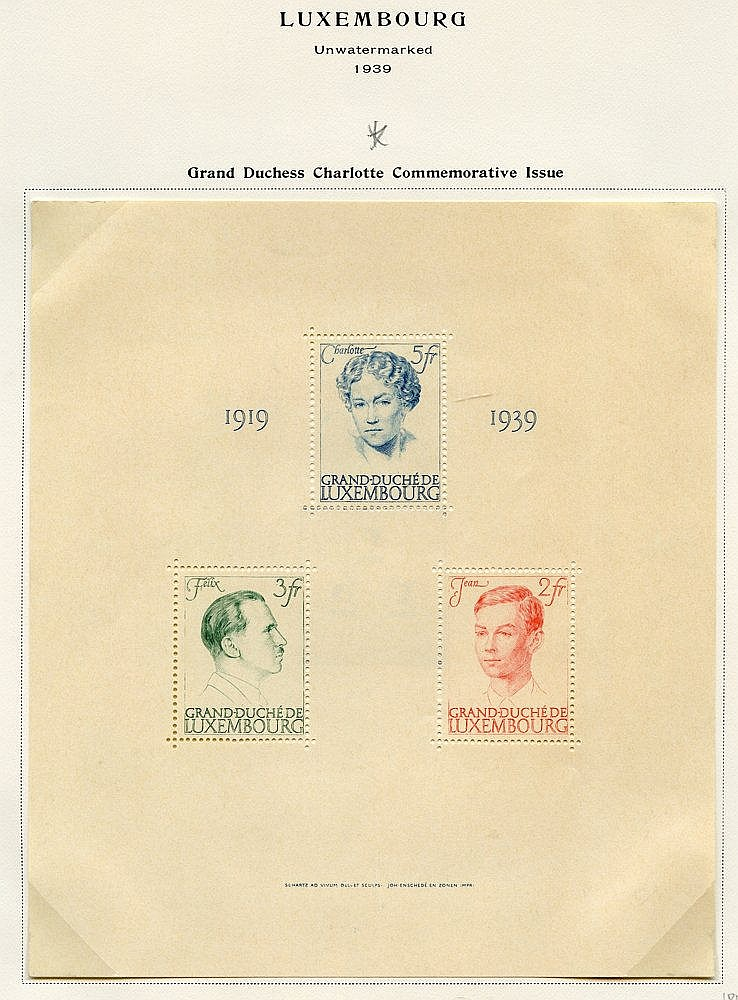 1852-2006 fine collection of mainly M or UM neatly presented in a