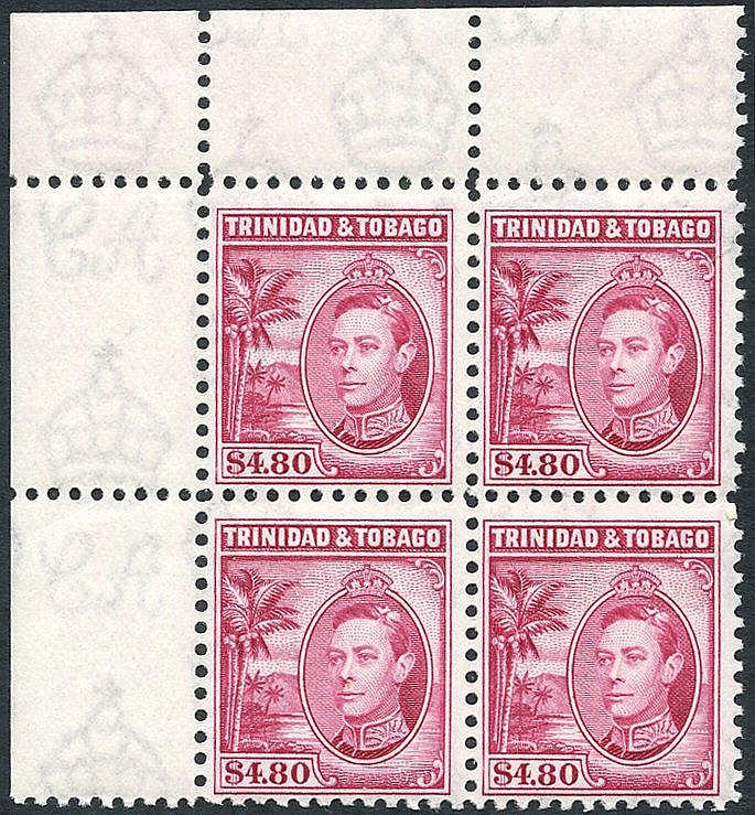 1938-44 1c to $4.80 (12 vals), plus a set (excl. 1938 3c & 4c val