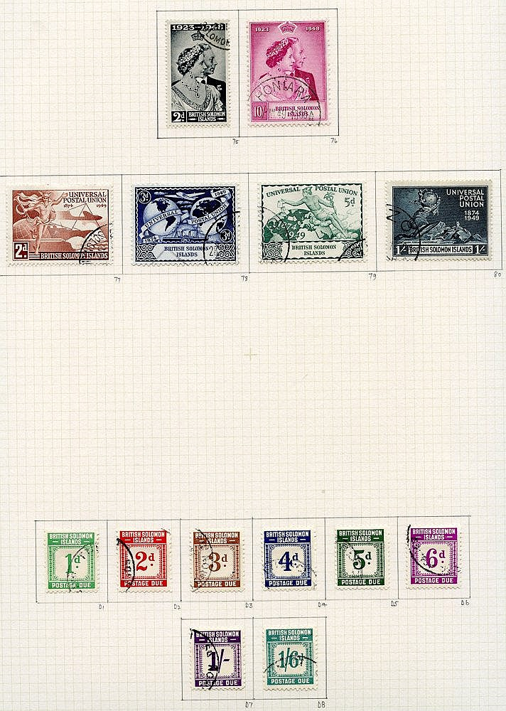 1937-51 collection U on philatelic leaves with basic issues, comp