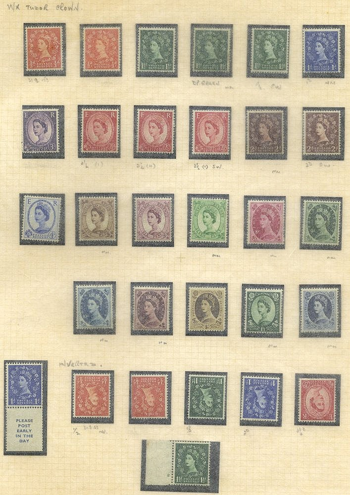 1952-70 M & U collection housed in a large Philatelic album + sli