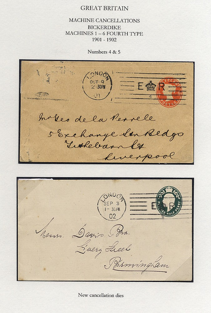 MACHINE CANCELLATIONS fine collection of mainly Edwardian postcar
