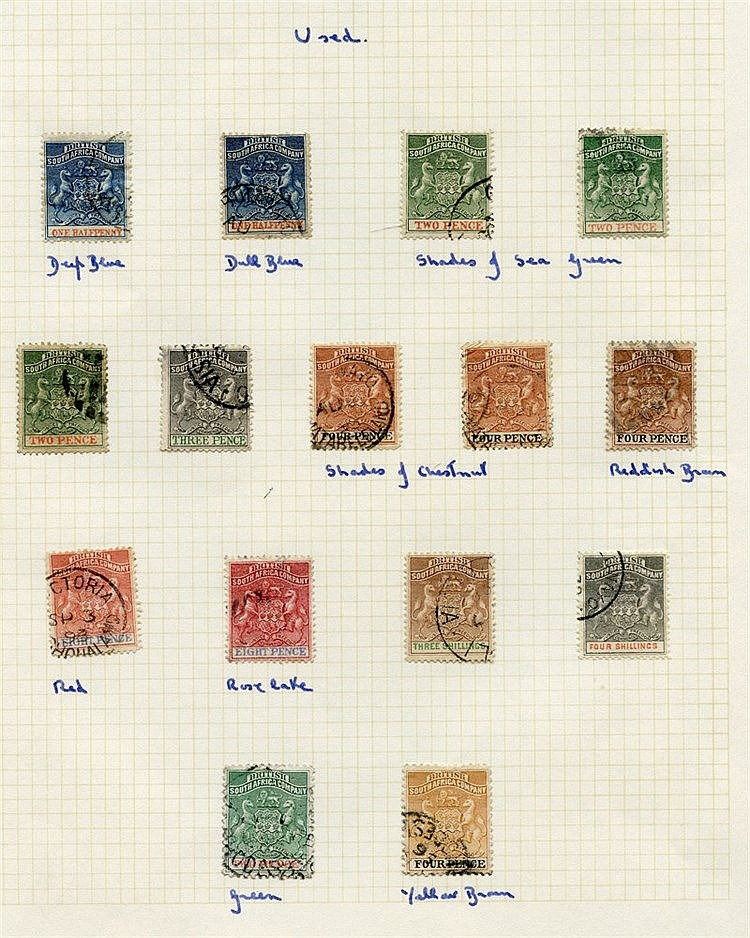 1892-94 set FU, the 3s is particularly fine, also 1895 soft paper
