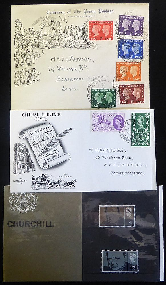1937-97 collection in carton, noted - 1940 Centenary, 1948 Olympi