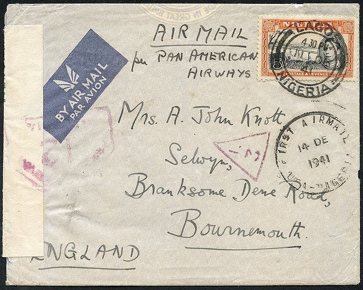 1936-46 airmails collection of mainly special or first flights (1