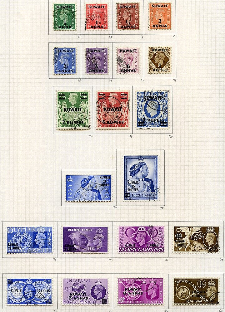 1939-51 collection U on philatelic leaves with basic issues compl