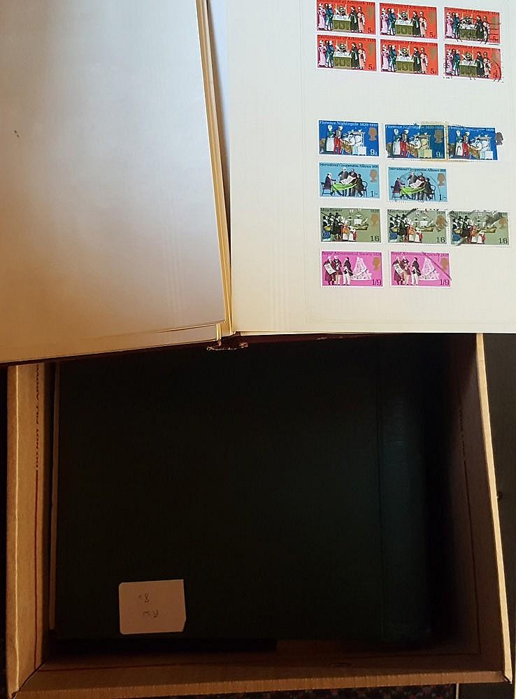 ACCUMULATION in carton incl. quantity of covers & greetings teleg