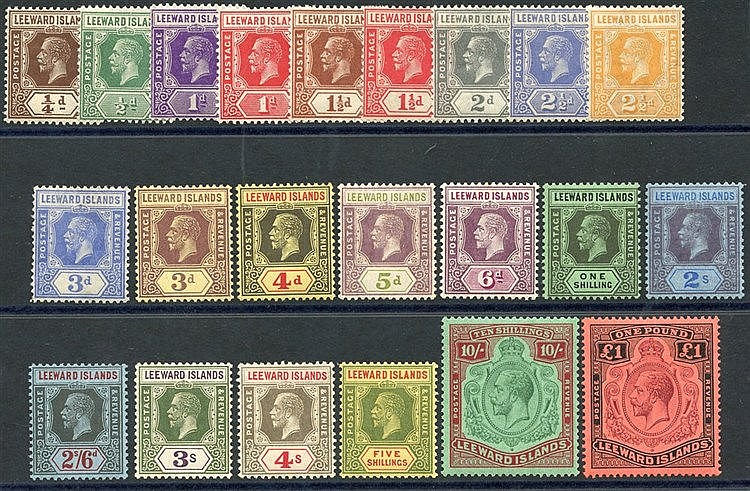 1921-32 MSCA set, fine M (3d has crease & 6d small tone o/w a ver