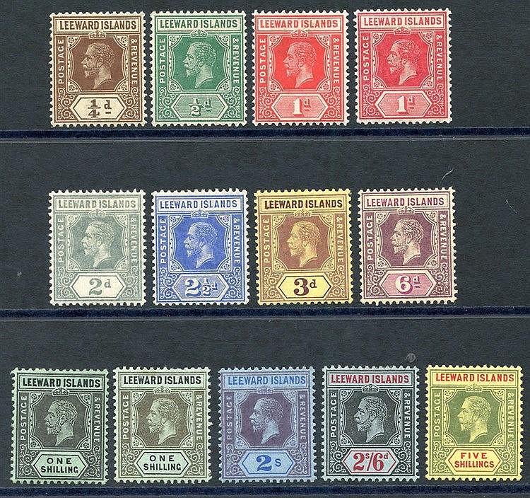 1912-22 MCCA set (excluding 4d) fine M, extra 1s value, SG.46/57.