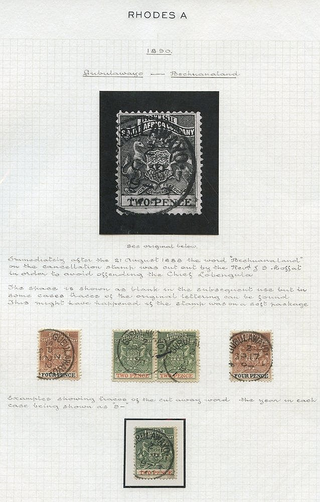 1892 (Jan) 2d pair & single, plus 4d two singles all clearly c.d.