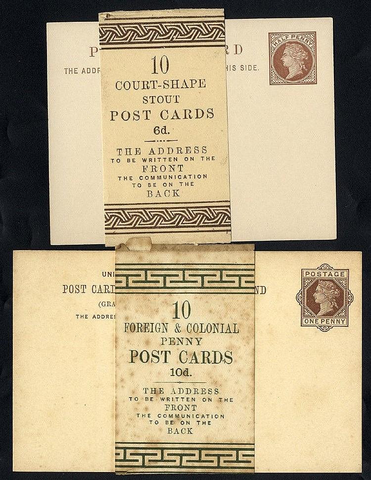 QV-QEII selection of 37 unused envelopes, postcards or reg letter