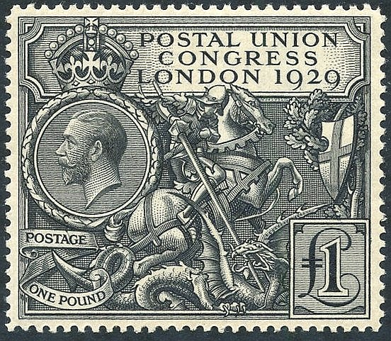 1929 £1 PUC, UM (gum lightly toned), SG.438.
