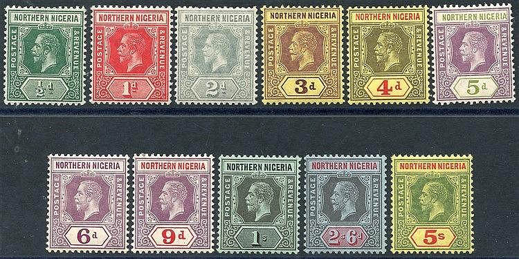 1912 MCCA set to 5s, fine M, SG.40/50. (11) Cat. £64
