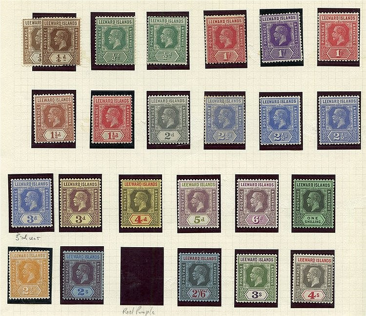 QV (a few) then KEVII 1912 to 1s (2) M, 1921 to 4s M, 1938 to 5s,
