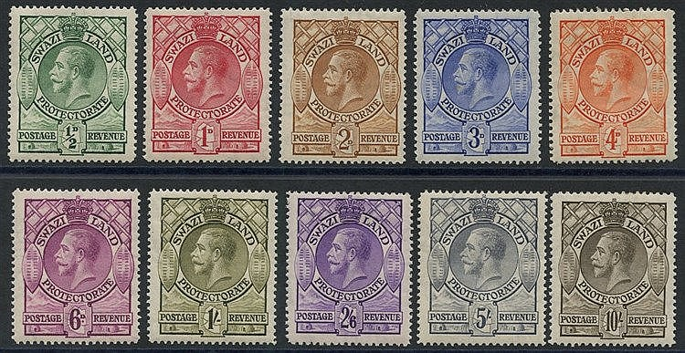1933 KGV Defin set, fine M (2½d has a couple of short perfs), SG.