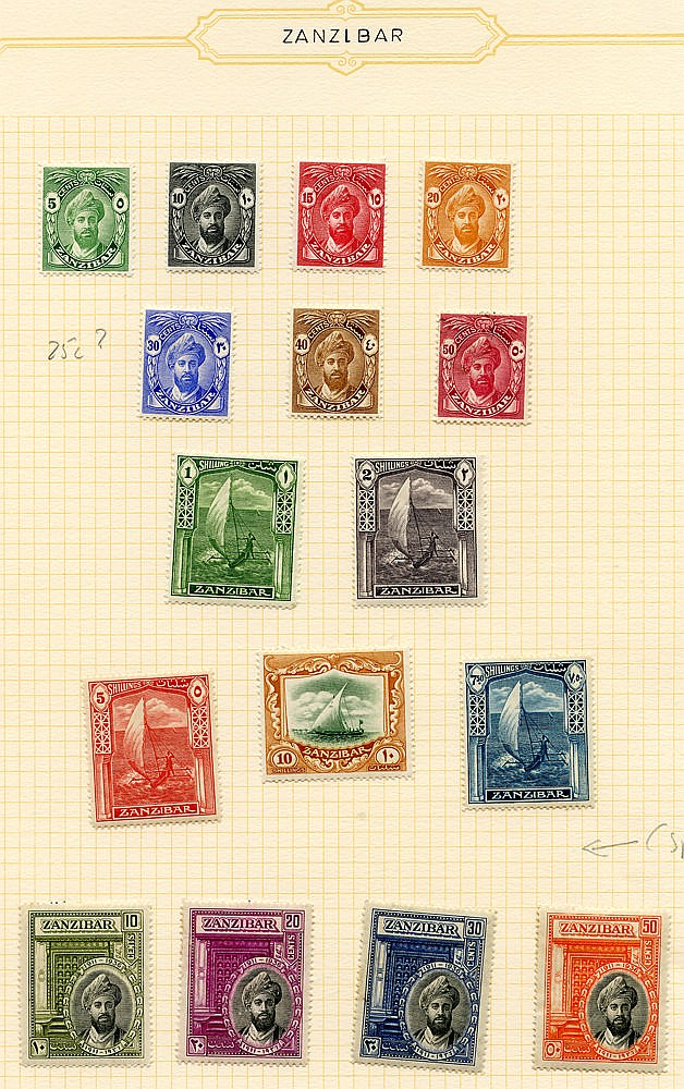1936-66 fine M collection on leaves incl. 1936 set (excl. 25c), 1