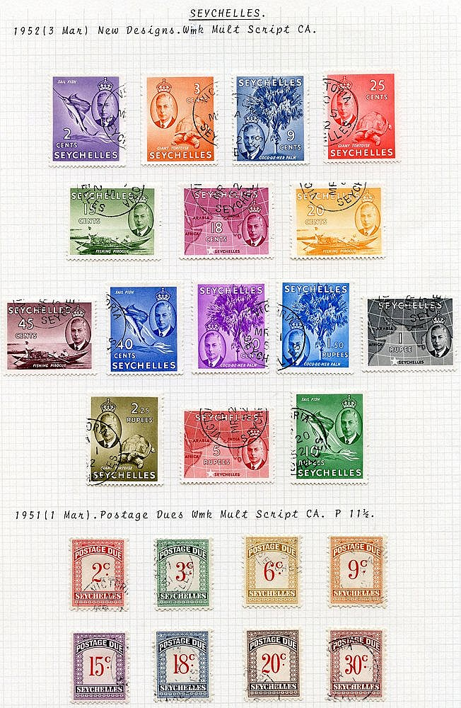 1937-52 KGVI collection incl. 1938 vals to 1r50, 1948 Wedding, 19