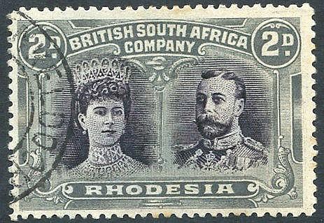 1910-13 2d purple-black & slate-grey, superb U example used at EN
