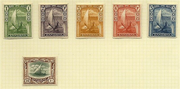 1898-1967 M & U collection on leaves incl. 1898 to 5a U, 1899 to