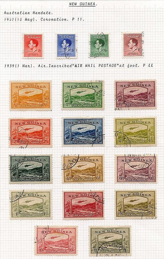 1937 Coronation & 1939 Defin set VFU, SG.208/11 & 212/225. (18) C