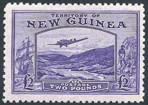 1935 Air £2 bright violet, fresh M, SG.204. (1) Cat. £350