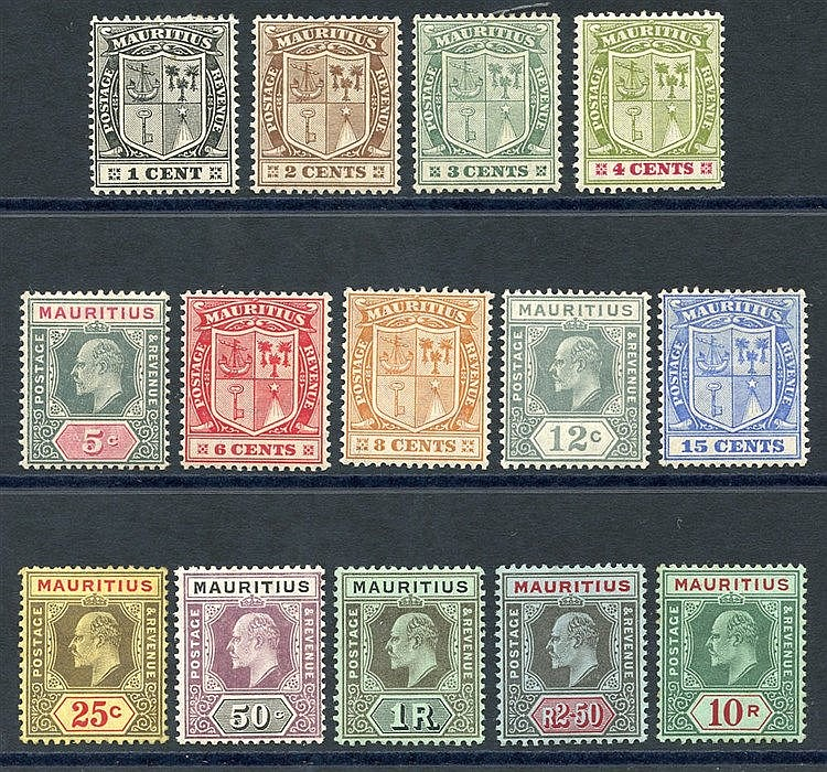 1910 MCCA set (excl. 5s), M (10s some tones around edges), SG.181