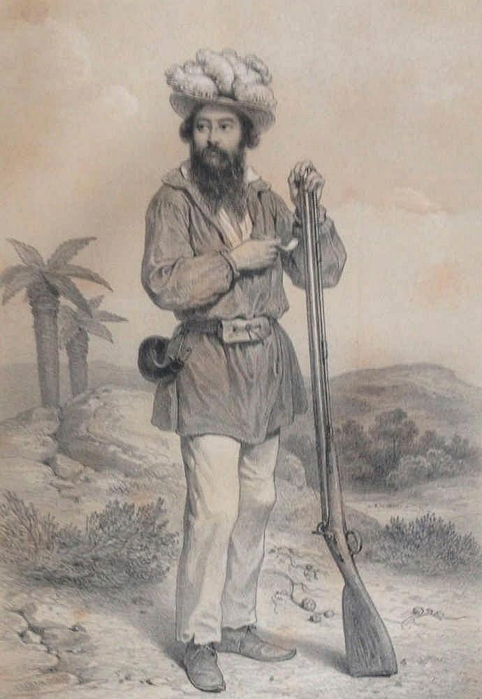 Adulphe DELEGORGUE <br> Voyage dans l'Afrique Australe…  <br> exécuté dans les a